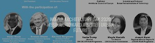 UIA - world architecture day 2020 Webinar: toward a better future